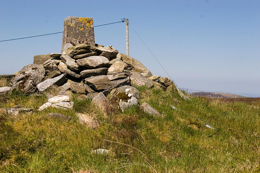 View towards the Grianán
