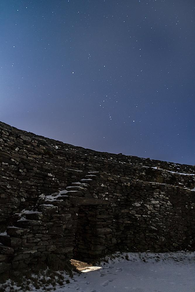 6.53 pm - The firmament star stricken.