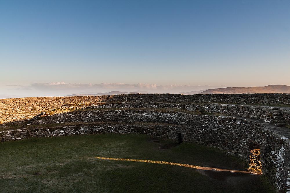 Towards Inishowen at 7.42 am.